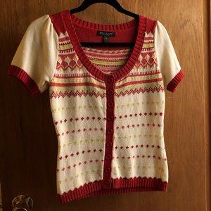 Betsey Johnson S/S Sweater